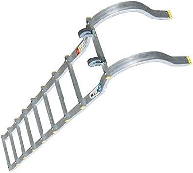 Escalera de tejado con gancho – Passo tra i peldaños color 25 cm: Amazon.es: Bricolaje y herramientas