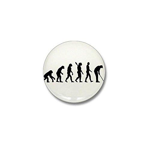 CafePress - Golf evolution Mini Button - 1