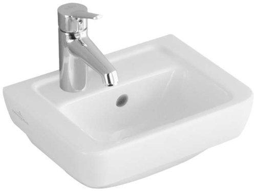Villeroy & Boch Handwaschbecken Subway 730937 370x290mm Weiß Alpin, 73093701