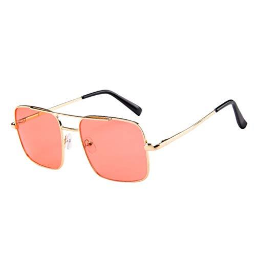 Fiaya Unisex Sun Glasses Polarised Pilot Classic Frame UV Protection Sunglasses Fishing Sport Sunglasses (1PC, Watermelon Red) (Uv-website)