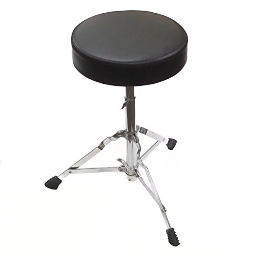 (Performance Plus JDT1 Drum Throne Junior Size Stool for 3 Piece and 5 Piece Drum Set)