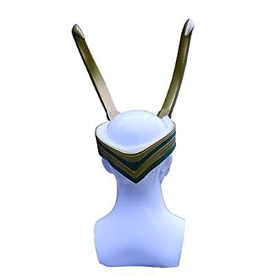 Bulex Loki Helmet with Horns, Norse God Loki Crown from Thor Ragnarok for Halloween Loki mask : Sports & Outdoors