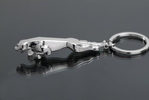 Jaguar Metal Car Logo Metal Key Ring Key Chain Keyring by Metal keychain Jaguar car key chain