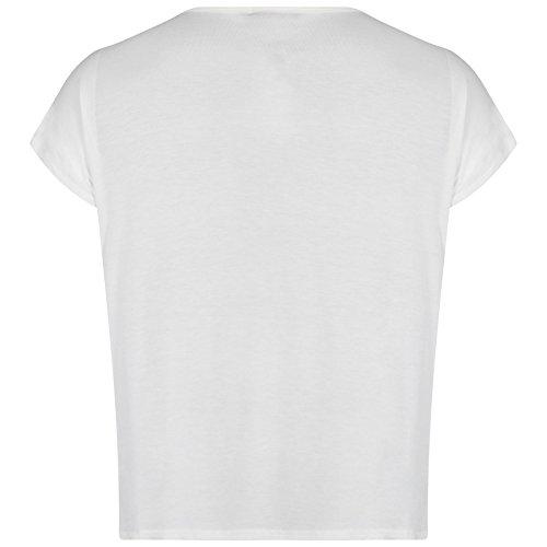 White 44 Chemises T 54 Off stretch taille Femmes Imprim Tops Pickle Limited Chocolate plus Nouveau nxZB1vS6Sq