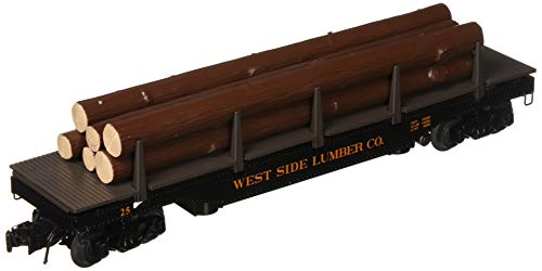 Uncoupling Track O-27 - Williams by Bachmann West Side Lumber Company O Scale Operating Log Dump Car