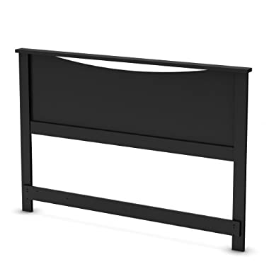 South Shore Step One Collection Full / Queen 54/60-Inch Headboard, Black