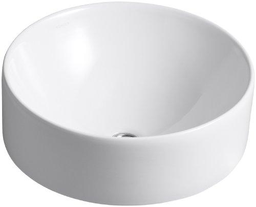 Kohler K-14800-0 Vox Round Vessel, White