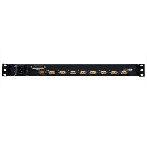 Tripp Lite B020-U08-19-K 8-Port Console KVM Switch w/ 19'' LCD & 8 PS2/USB Combo Cables by Tripp Lite (Image #1)