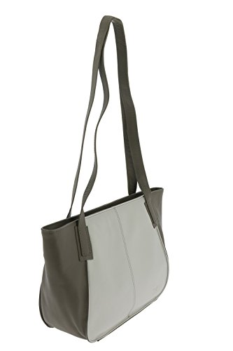 VOi RV-Tasche 20751 Umhängetasche feinstes Glattleder schilf/trüffel