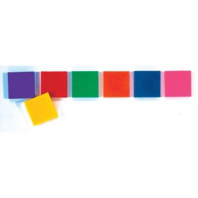 hand2mind Rainbow Color Tiles, Set of ()