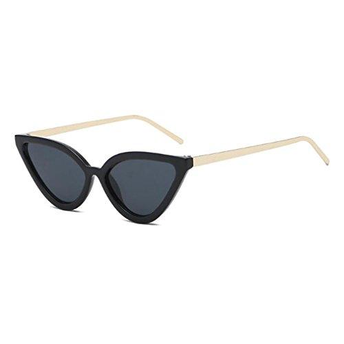 Al Ultravioleta Las Aire De Tendencia Fresca Pequeña Gato Personalidad Libre Las C4 De Ojo Protección Nueva Del Sol Forman Gafas De Gafas Mujeres 400 Caja Señoras EFOqwB