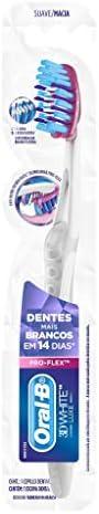Escova Dental Oral-B 3D White Luxe Pro-Flex