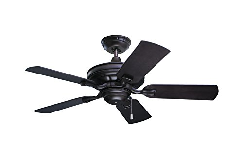 Emerson CF542ORB Veranda Indoor/Outdoor Ceiling Fan, 42-Inch Blade Span, Oil Rubbed Bronze Finish with All-Weather Blades ()