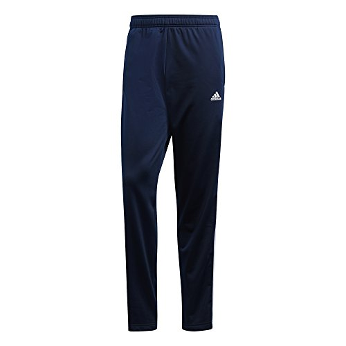 - adidas Men's Athletics Essential Tricot 3-Stripe Pants, Collegiate Navy/White, Large