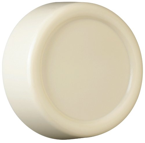 Legrand - Pass & Seymour RRKIV Plastic Replacement Dimmer Knob Plain Round Easy Installation, Ivory - Pass & Seymour Knobs