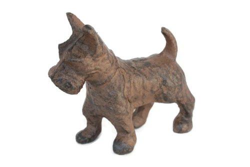 - Waldorf Kennels and Gardens Cast Iron Scottie Dog Scottish Terrier