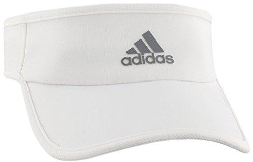 43b1a6b6 adidas Women's Superlite Performance Visor, White/Light Onix, One Size