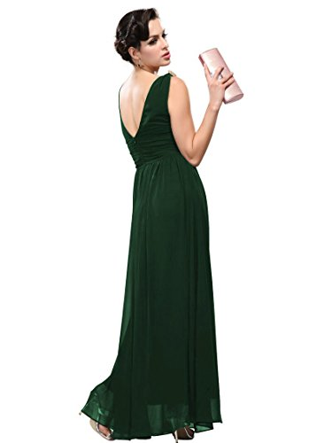 Engerla - Vestido - trapecio - para mujer Verde Abeto