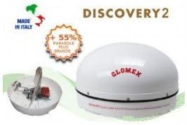 Antena de satélite automático Glomex Discovery 2: Amazon.es ...