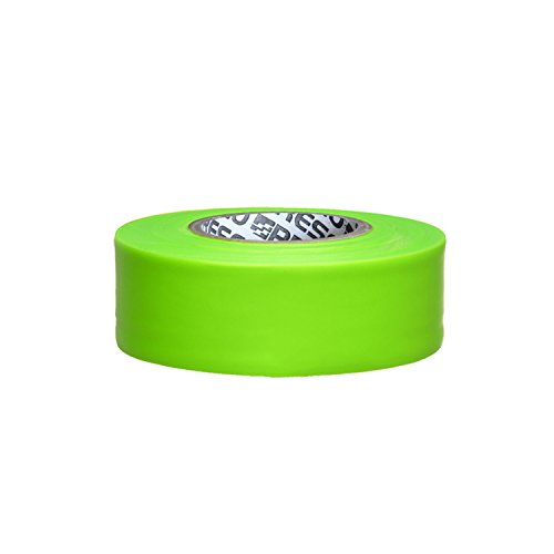 Presco PresGlo Arctic Roll Flagging Tape: 1-3/16 in. x 50 yds. (Neon Lime) ()