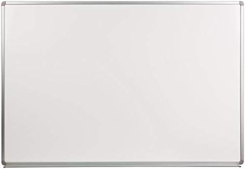 Flash Furniture 6' W x 4' H Porcelain Magnetic Marker Board