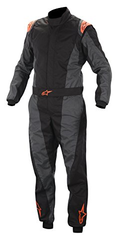 Alpinestars K-MX 5 KART SUIT Black Anthracite Orange Fluo 46 by Alpinestars