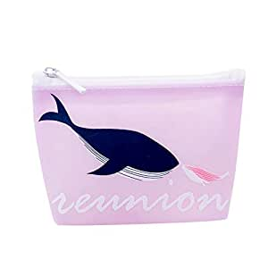 Cupcinu Monedero Carteras Creativo Whale PVC Card Case ...