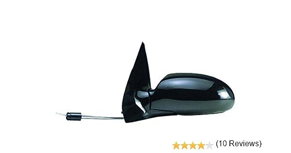 color negro de XtremeAuto con pegatina atornillable Antena AM//FM de repuesto para Citroen C4 Picasso