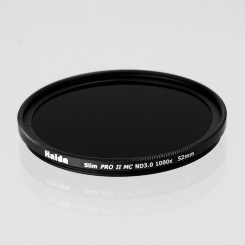 Haida 52mm Slim PROII Neutral Density Multi-Coated ND 3.0 1000x Filter