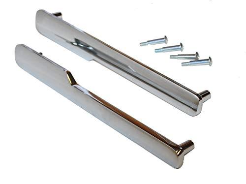 Weber 70327 Set of 2 Door Handles w/Hardware for Some Summit Grills. ()