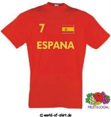 World of Camiseta para hombre camiseta de España/espania en camiseta Look, hombre mujer, rojo: Amazon.es: Deportes y aire libre