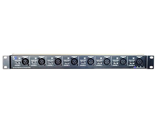 ART S8 Eight Channel Mic Splitter (Xlr Splitter Box)
