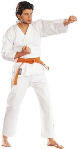 Karate 9oz 100/% cot/ón Uniforme de Karate blanco 0//130cm