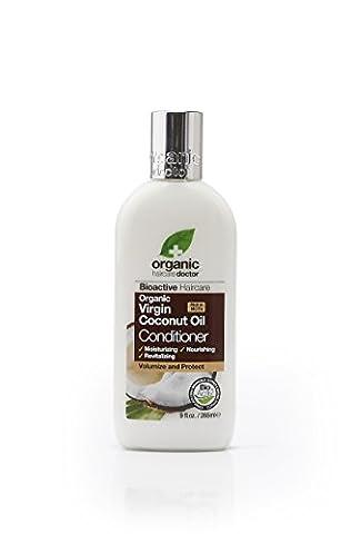 Organic Doctor Organic Virgin Coconut Oil Conditioner, 9 fl.oz. (Organics Coconut Conditioner)