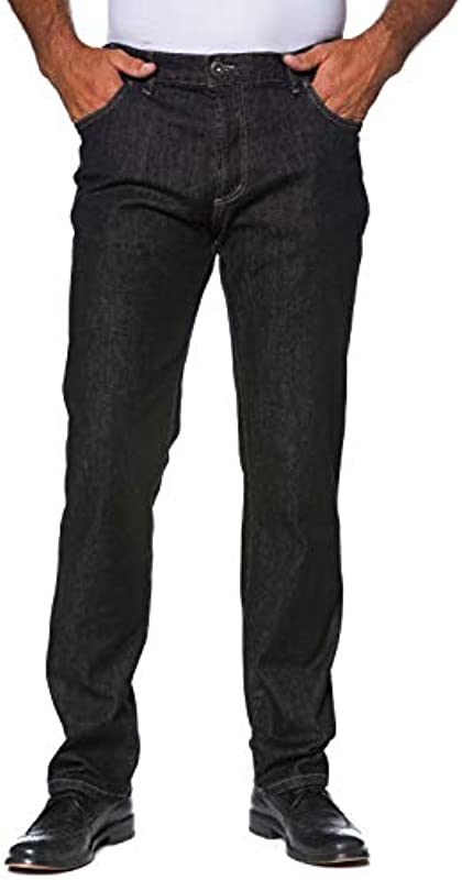 JP 1880 Męskie duże rozmiary do 70, dżinsy krÓj 5-kieszeniowy, spodnie denim ze stretchem, komfortowy ściągacz i Regular Fit, bawełna 702468: JP 1880: Odzież