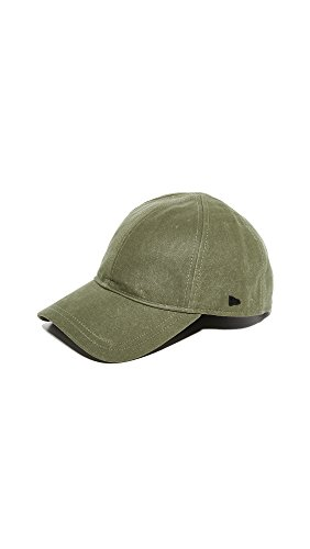 New Era Men's Coated Canvas 9Twenty Cap, Olive, One Size - Coated Canvas