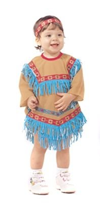[Native American Indian Girl Infant Toddler Costume (24 Month)] (Toddler Indian Costumes)