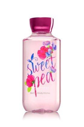 ひねくれた繰り返す受け取る【Bath&Body Works/バス&ボディワークス】 シャワージェル スイートピー Shower Gel Sweet Pea 10 fl oz / 295 mL [並行輸入品]