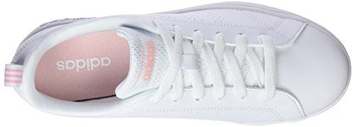 Weiß Vs Clean adidas 000 Ftwbla Damen Fitnessschuhe Corneb Advantage X4pwqU