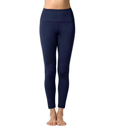 Palestra Donna L01 Blu 03 Allenamento Pantaloni 2 Navy Leggings Opaco Lapasa Fitness Spandex Yoga 0RwfRqz1