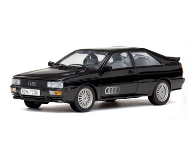 Quattro Coupe - 1981 Audi Quattro Coupe Black 1/18 by Sunstar 4151