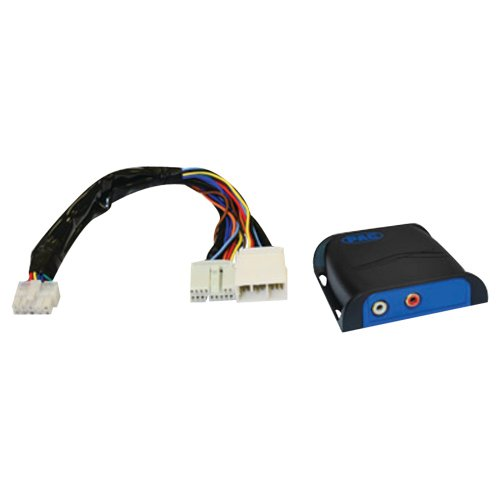 1 - 14-Pin Satellite or CD Changer Auxiliary Input for Select Honda(R)/Acura(R) 2003 - 2012, Converts 14-pin satellite or CD changer, port of OEM Acura(R)/Honda(R) radio to RCA level audio, (Rca Car Cd Changer)