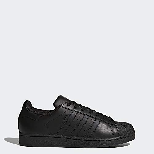 adidas Originals Men's Superstar Shoe Running Black, ((11 M US)