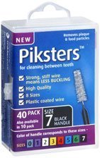 Piksters Interdental Brush Size 7 by Pikster