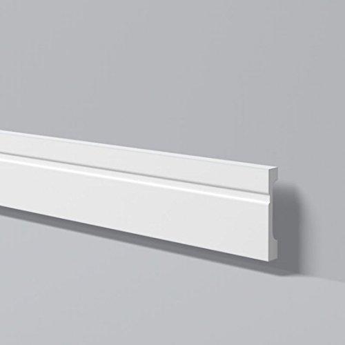 Zó calos para paredes Wallstyl FD11 Nmc / Rodapié s / Zó calo blanco / Molduras poliestireno
