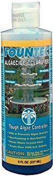 - EasyCare FounTec Algaecide and Clarifier, 8 oz. Bottle (2 Bottles - 16 Ounces)