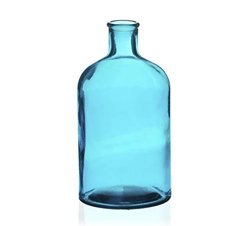 Vaso Botelha Retro Etna Azul
