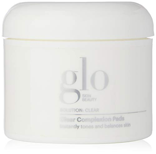 Glo Skin Beauty Clear Complexion Pads | Cleansing Face Wipes for Oily Skin, Acne and Breakouts | 50 count (Best Cleansing Wipes For Oily Skin)