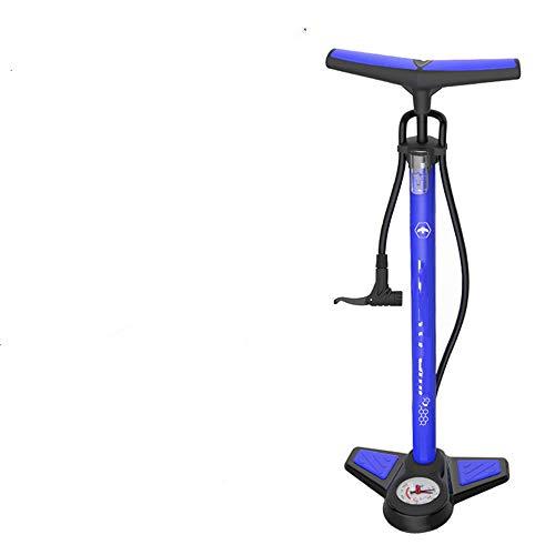 zzyks High-Pressure Pedal Pump, Mini Portable, Bicycle, Mountain Bike, Electric car Pump (Degree 23 Cylinder Heads Aluminum)