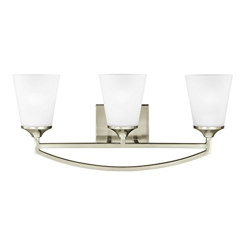 Sea Gull Lighting 4424503-962 Hanford Three-Light Bath
